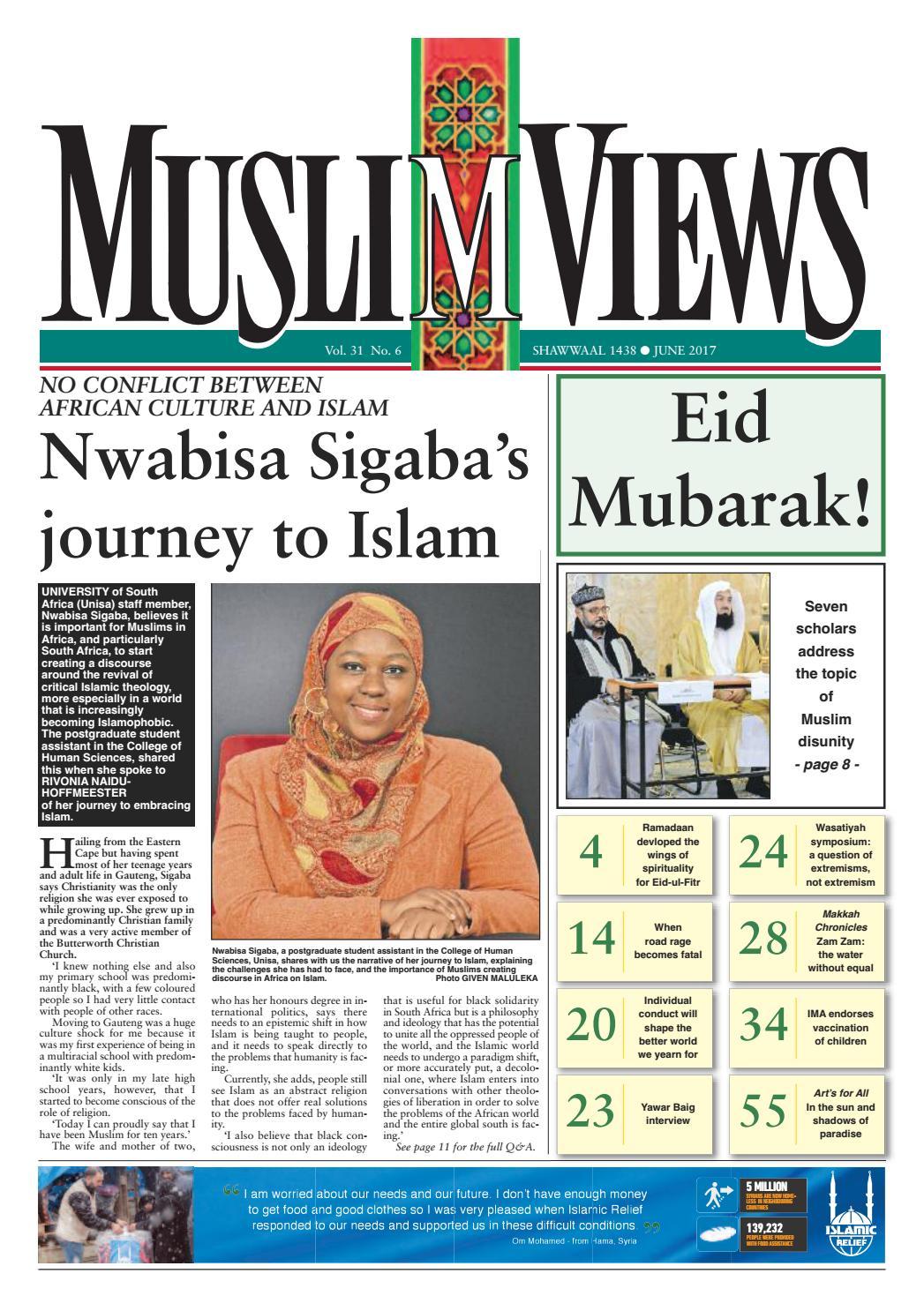 Muslim Views, June 2017 by Muslim Views - issuu