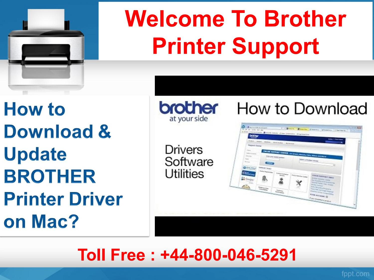 How to download & update brother printer driver on mac by