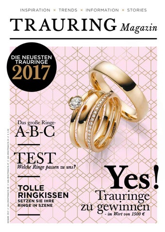 Trauring Magazin 2017 58 seiten voller Ringe by Bruidmedia issuu