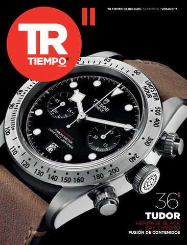 15bfe8e9f00 Tr tiempoderelojes numero 16 by Ed-Tourbillon.Spain - issuu
