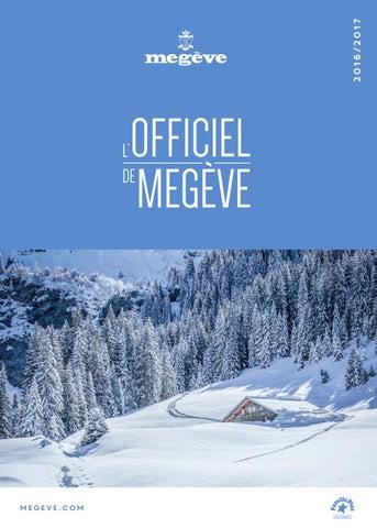 e281308425123b L Officiel de Megève Hiver 2016-2017 by Megève (officiel) - issuu