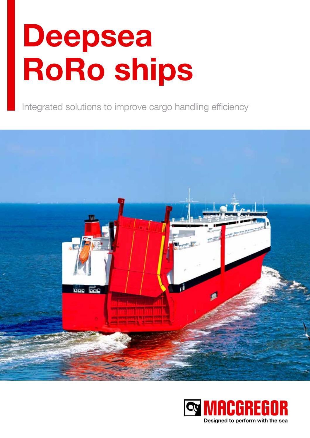 Deepsea RoRo ships brochure 2017 by Cargotec - issuu
