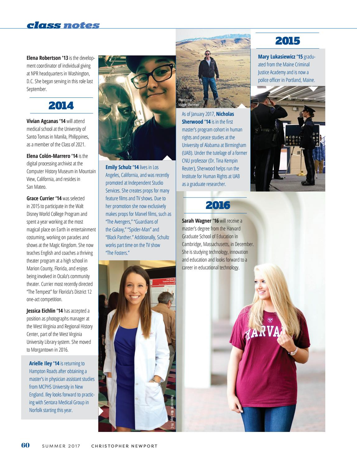 Voyages 2017 by Christopher Newport University - issuu