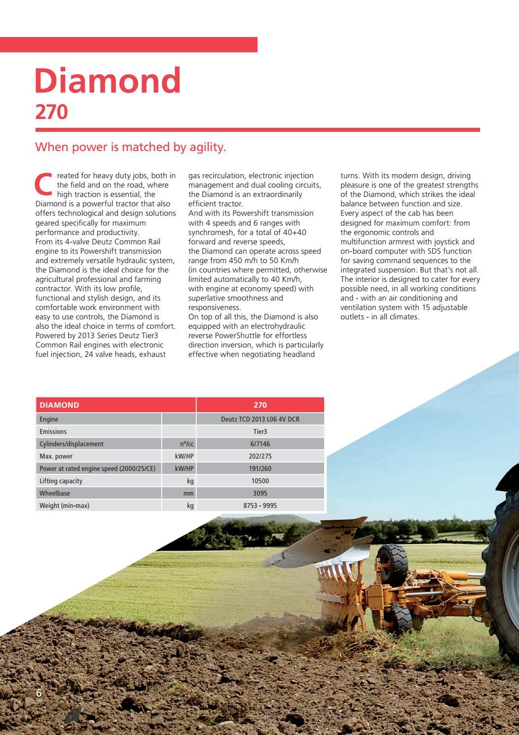 SAME Diamond_Leaflet_English by SAME - Tractors - issuu