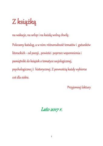 Z Książką Na Wakacje By Biblioteka Pedagogiczna W Chełmie Bp