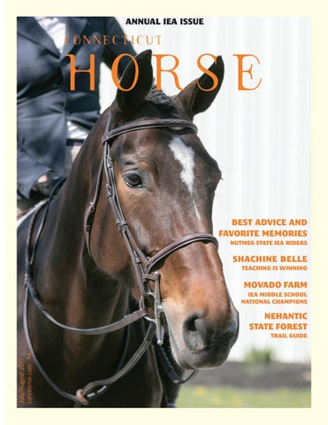 Connecticut Horse July/August 2017 by Community Horse Media