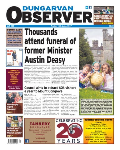 19130a7a568335 Dungarvan observer 16 6 2017 edition by Dungarvan Observer - issuu