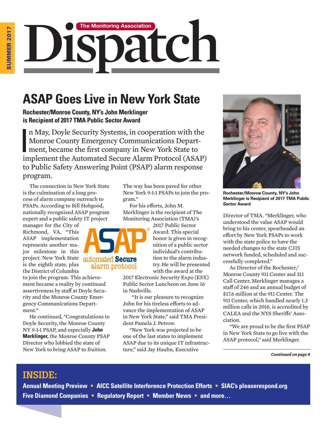 TMA Dispatch Summer 2017 Digital Edition