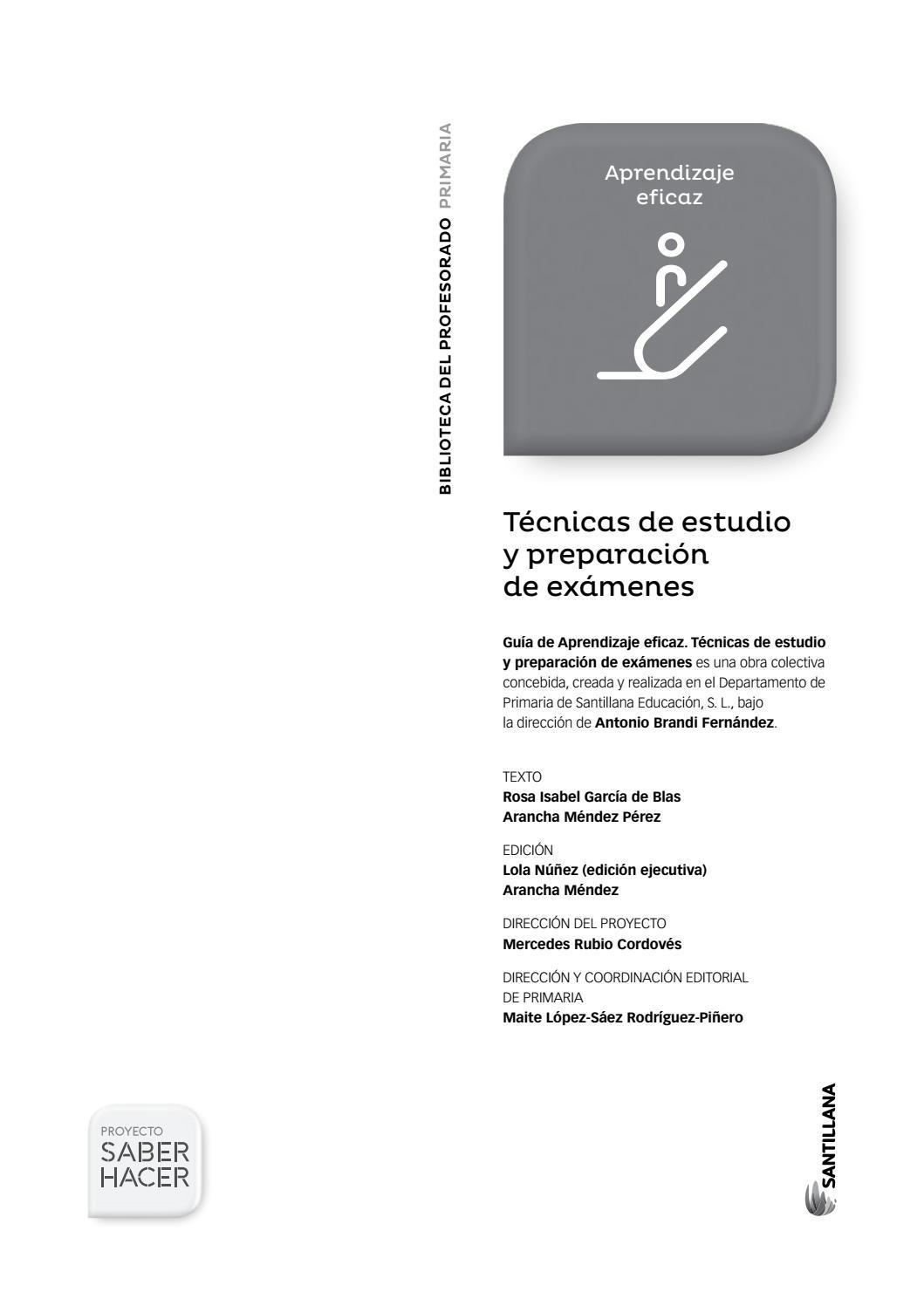 Tecnicas estudio by Pedro Guisado - issuu