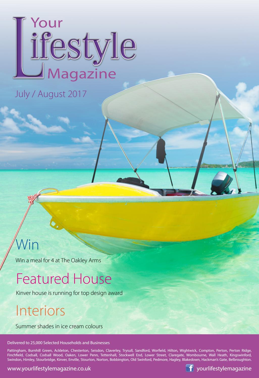 Your Lifestyle Magazine Jul/Aug 17 by Linda Farren - issuu