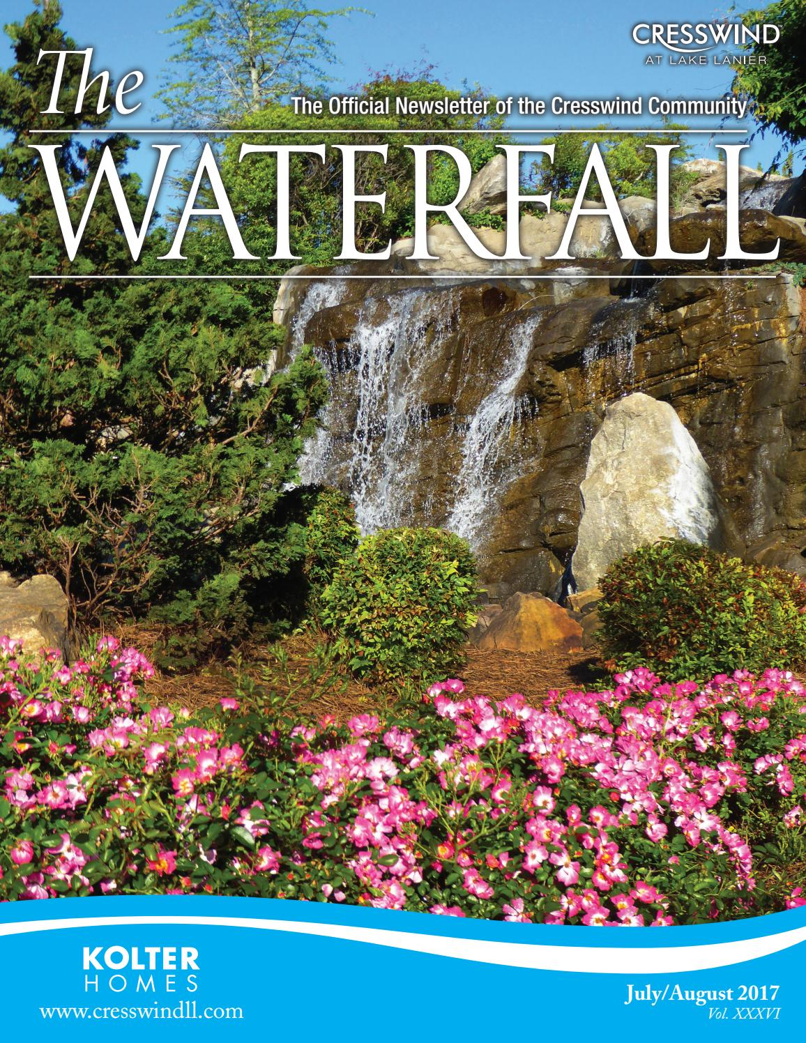 Cresswind Waterfall July/August 2017 by The Times - issuu