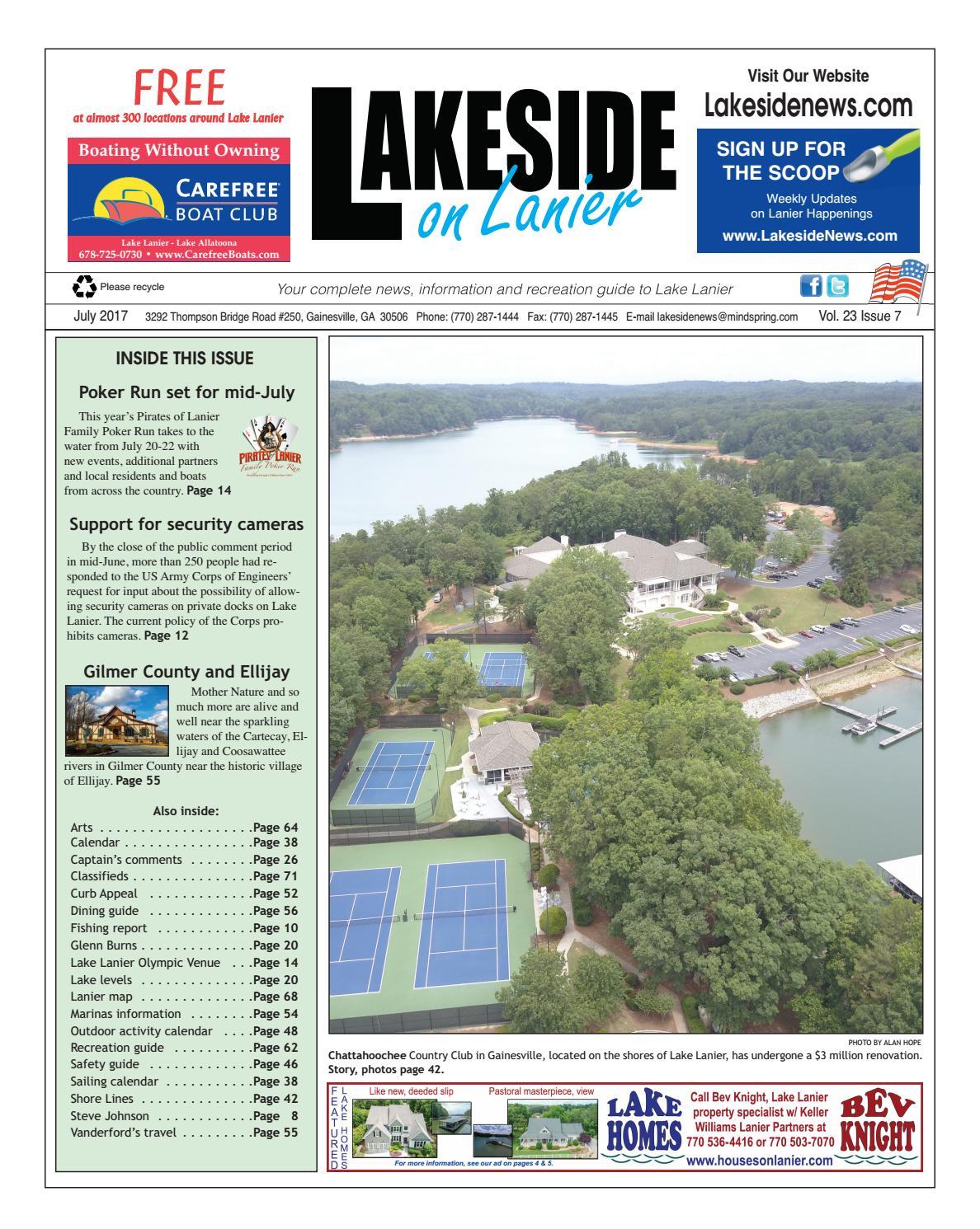 Lake Lanier History City Underwater
