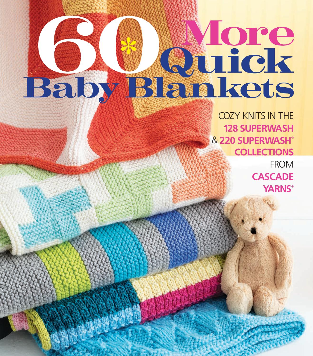 60 More Quick Baby Blankets By Sixth
