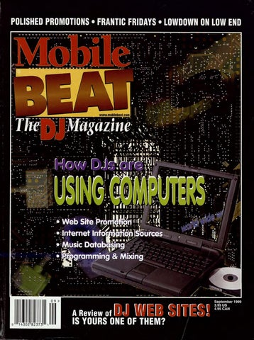 Issue 054 - September 1999 - How DJs are Using Computers by Mobile