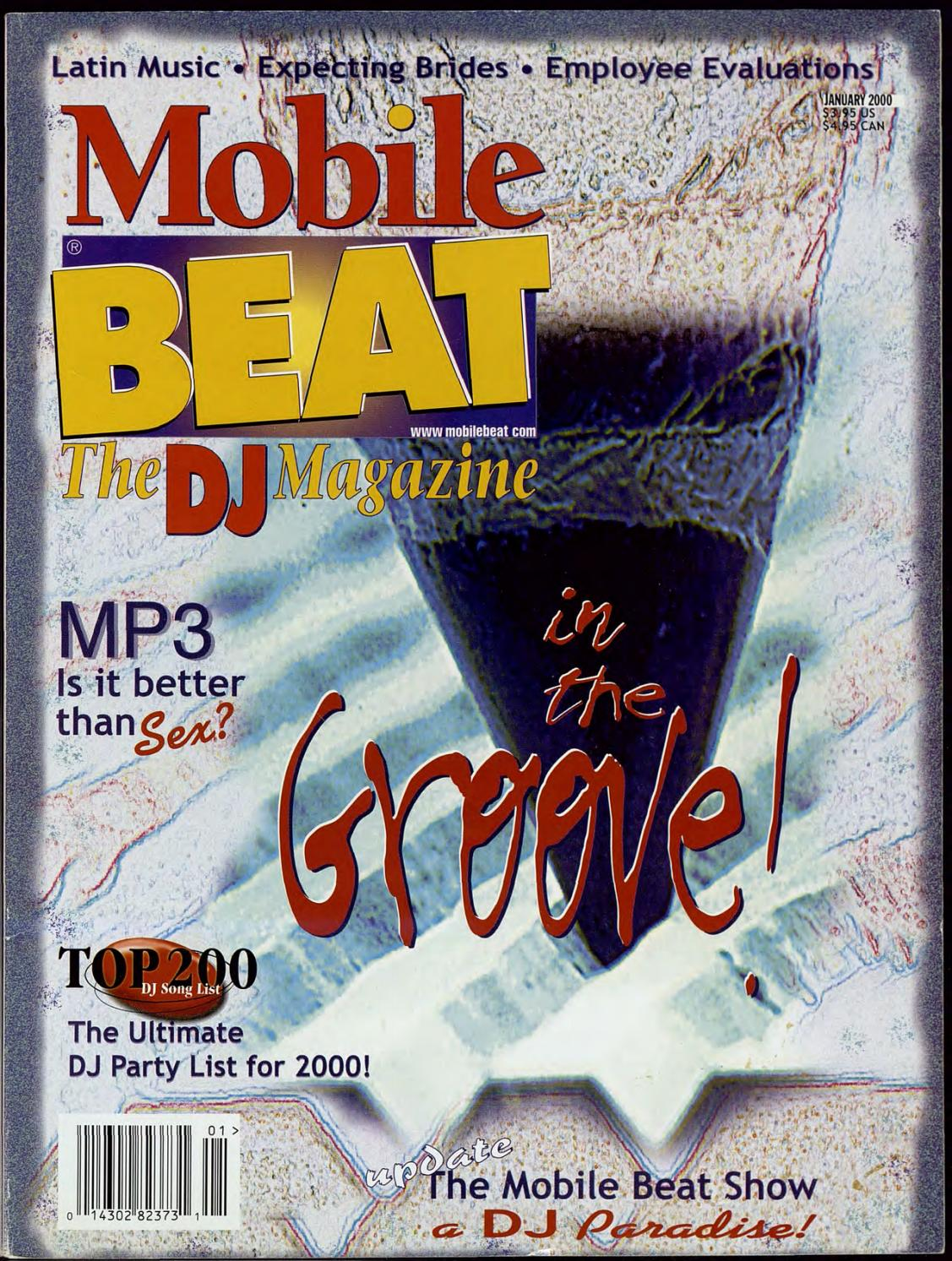 Feliz Navidad Breakbeat.Issue 057 January 2000 In The Groove By Mobile Beat