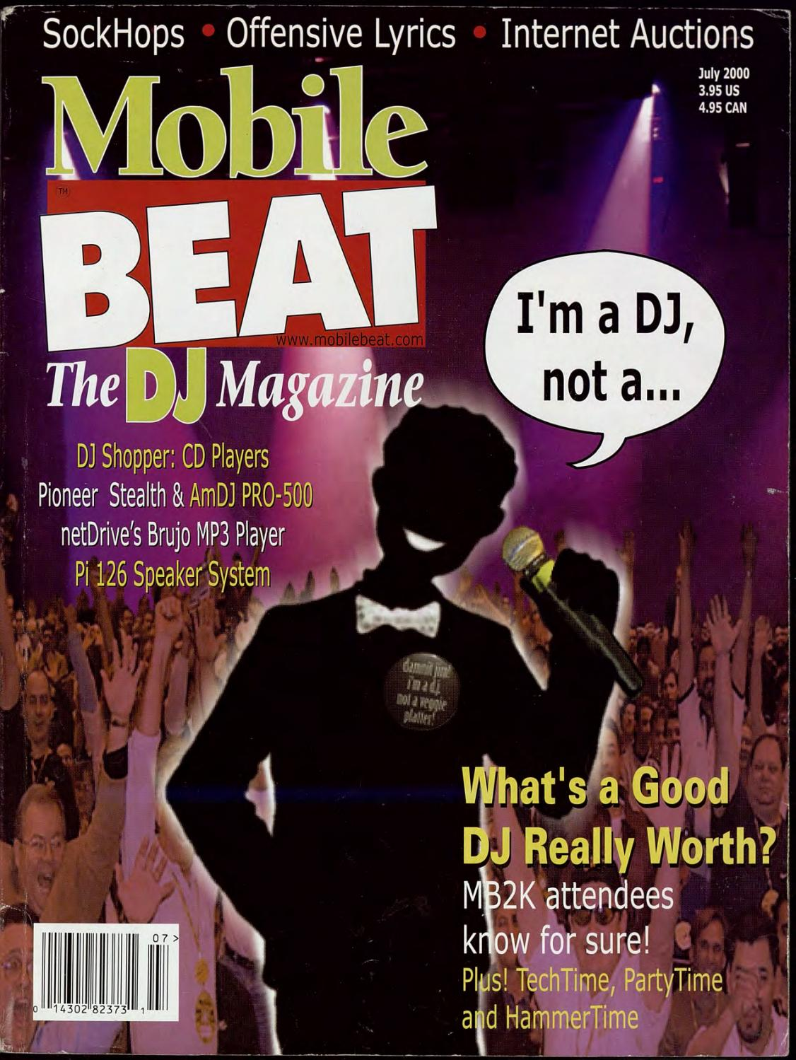 Issue 060 - March 2000 - What\'s a Good DJ Really Worth? by Mobile ...