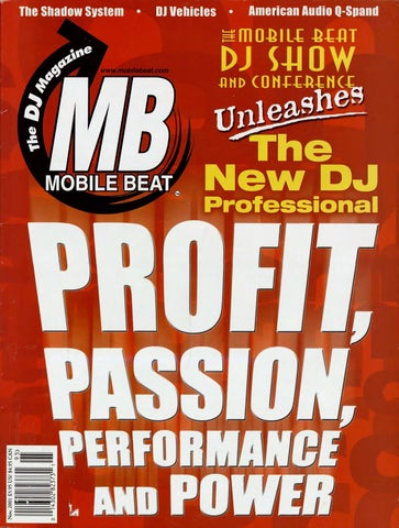 Issue 069 - November 2001 - Profit, Passion, Performance