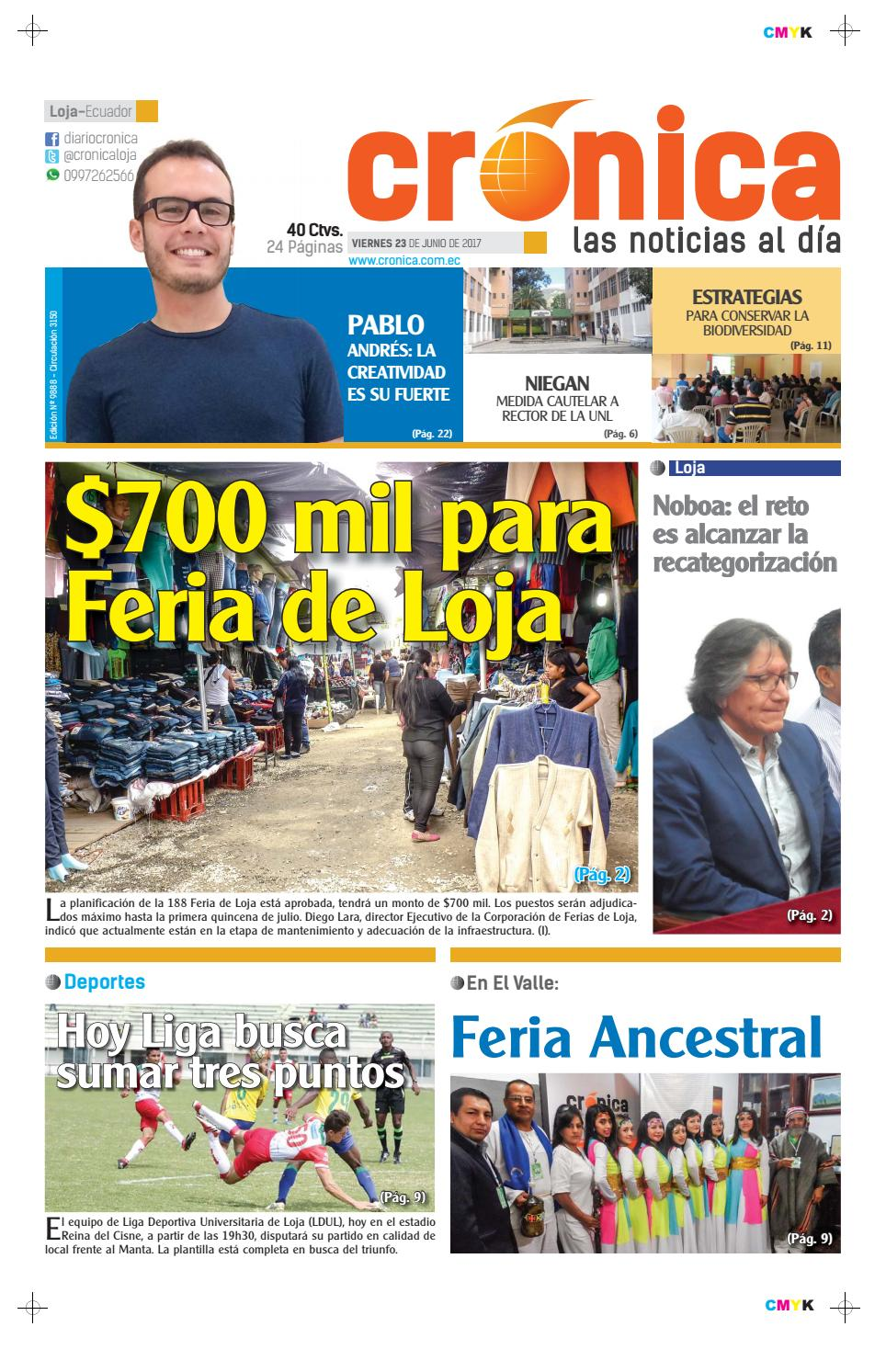 23junio2017 9888 by Diario Crónica - issuu