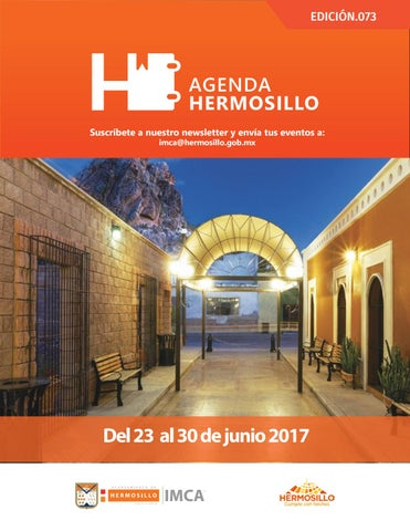 "Cover of ""Agenda Hermosillo 23 junio 2017"""