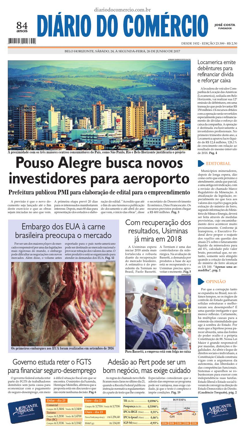 23399 by Diário do Comércio - Belo Horizonte - issuu 83a6ce4a561