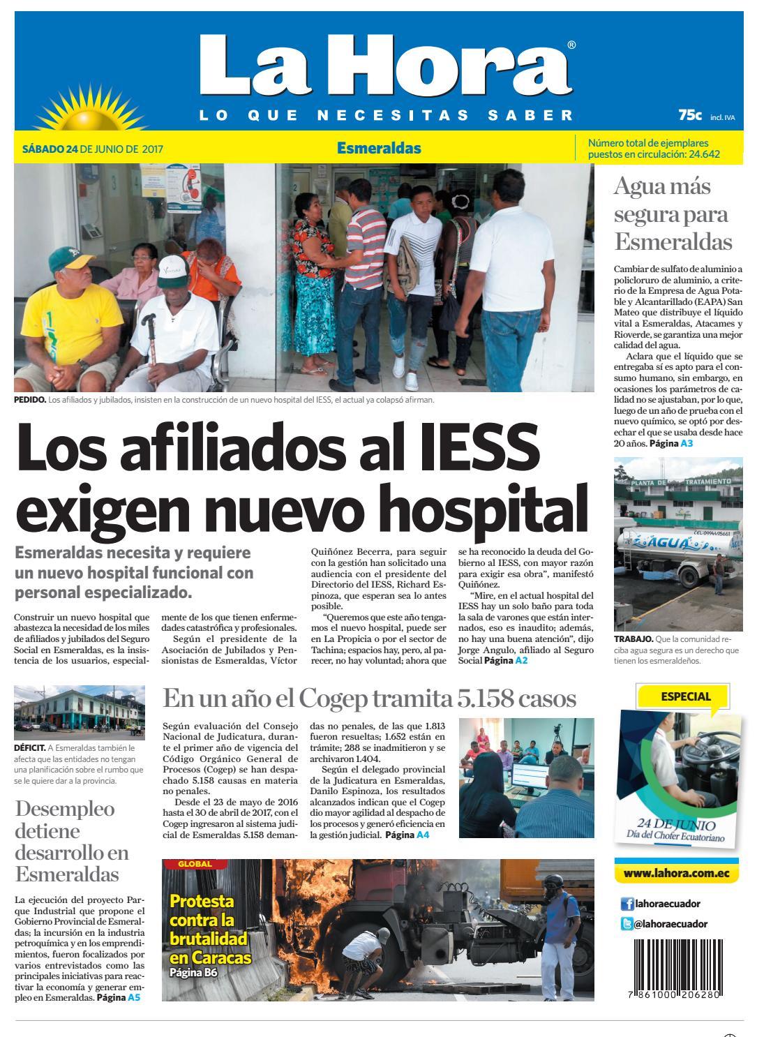 Imbabura 24 De Junio De 2017 By Diario La Hora Ecuador Issuu # Muebles Lecanos