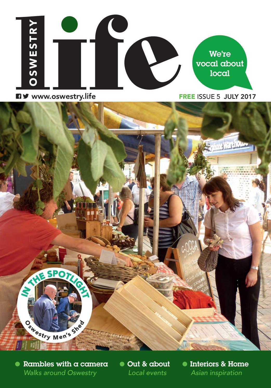 Oswestry life July 2017 by dts media ltd - issuu