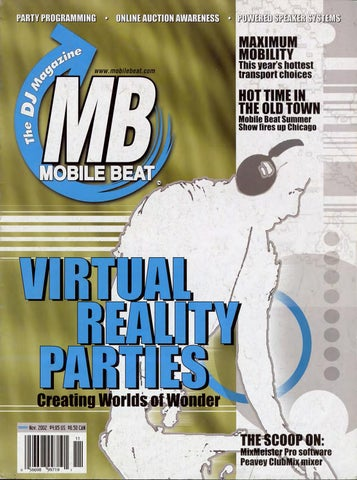 e2b26261eef4 Issue 076 - November 2002 - Virtual Reality Parties by Mobile Beat ...