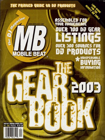 Issue 077 - December 2002 - The Gear Book 2003 by Mobile