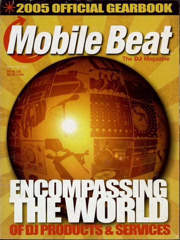 Issue 091 - December 2004 - Encomping The World of DJ ... on