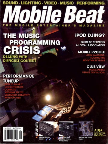 Issue 096 - August 2005 - The Music Programming Crisis by Mobile