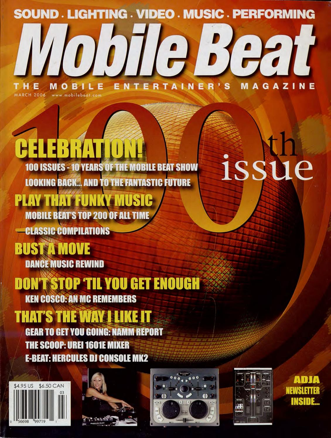 Issue 100 - March 2006 - The 100th Issue by Mobile Beat