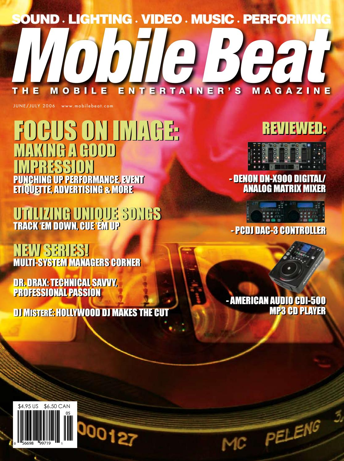 Issue 102 - June/July 2006 - Focus On Image: Making a Good