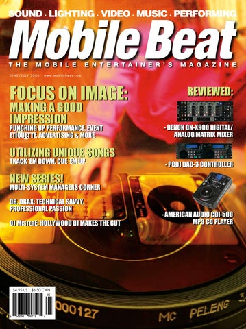 Issue 102 june july 2006 focus on image making a good impression