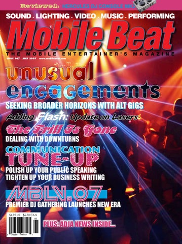 Issue 107 - May 2007 - Unusual Engagements by Mobile Beat
