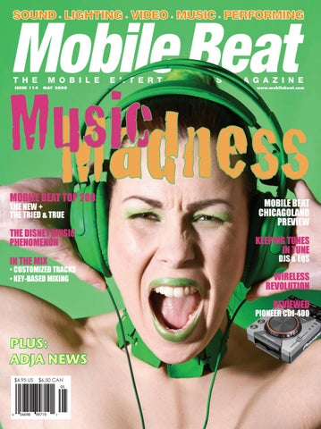 Issue 114 May 2008 Music Madness by Mobile Beat Magazine