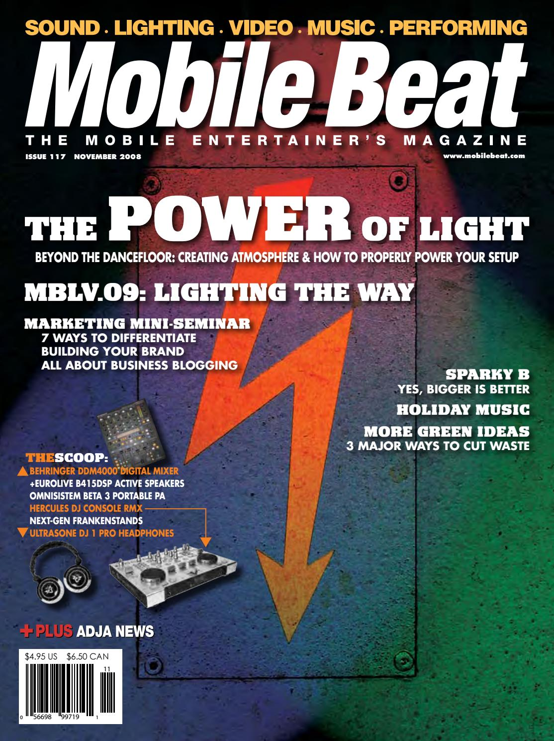Feliz Navidad Breakbeat.Issue 117 November 2008 The Power Of Light By Mobile