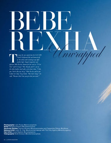 Page 34 of Bebe Rexha Unwrapped