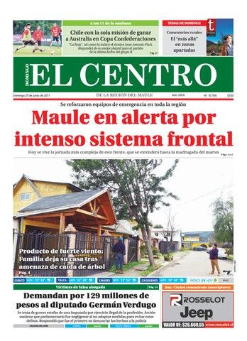 Diario 25-06-2017 by Diario El Centro S.A - issuu 8f56c3e688ec5