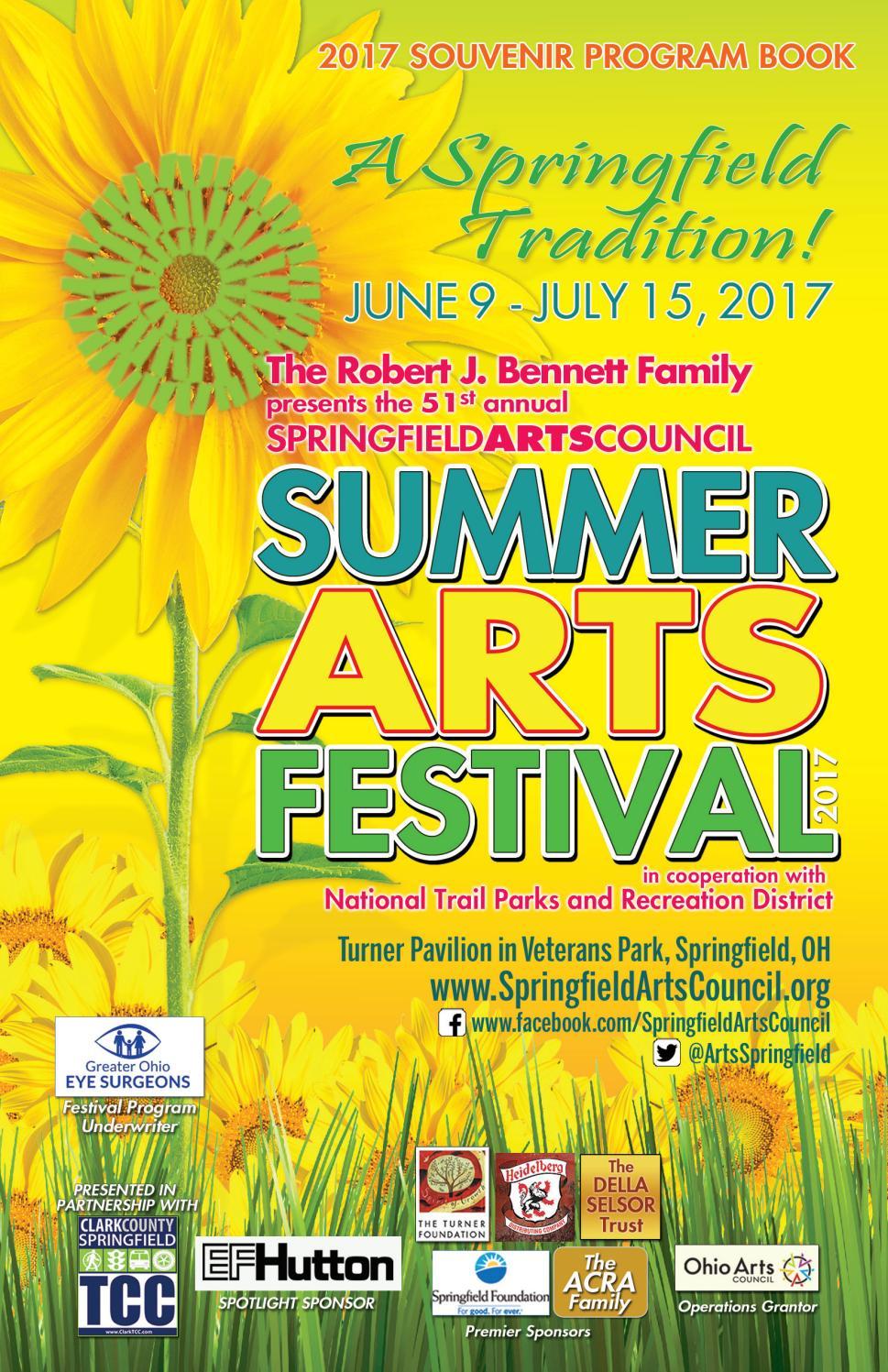 Jeff Wyler Springfield >> Summer Arts Festival 2017 Program Book by Springfield Arts Council - issuu