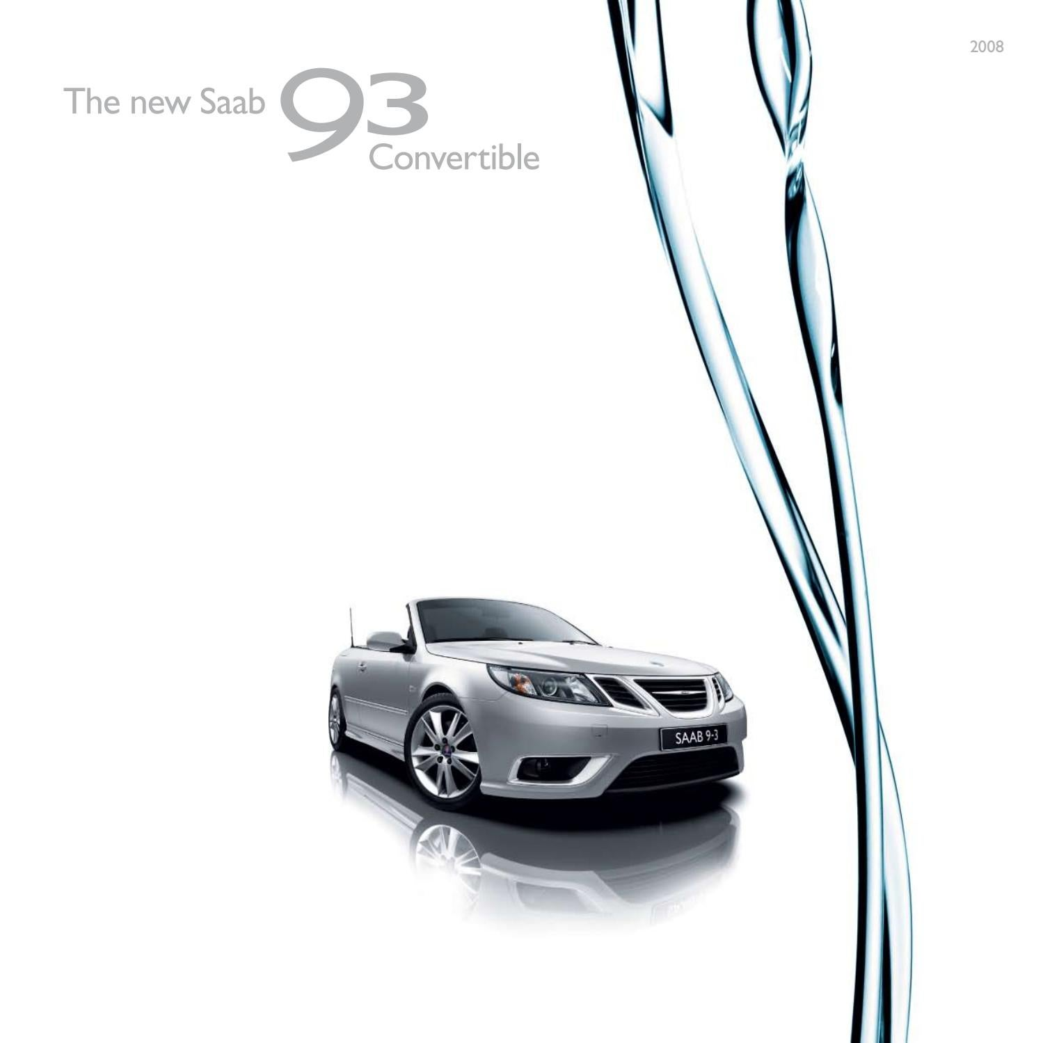 THE NEW SAAB 9-3X BROCHURE 2010 24 Pages