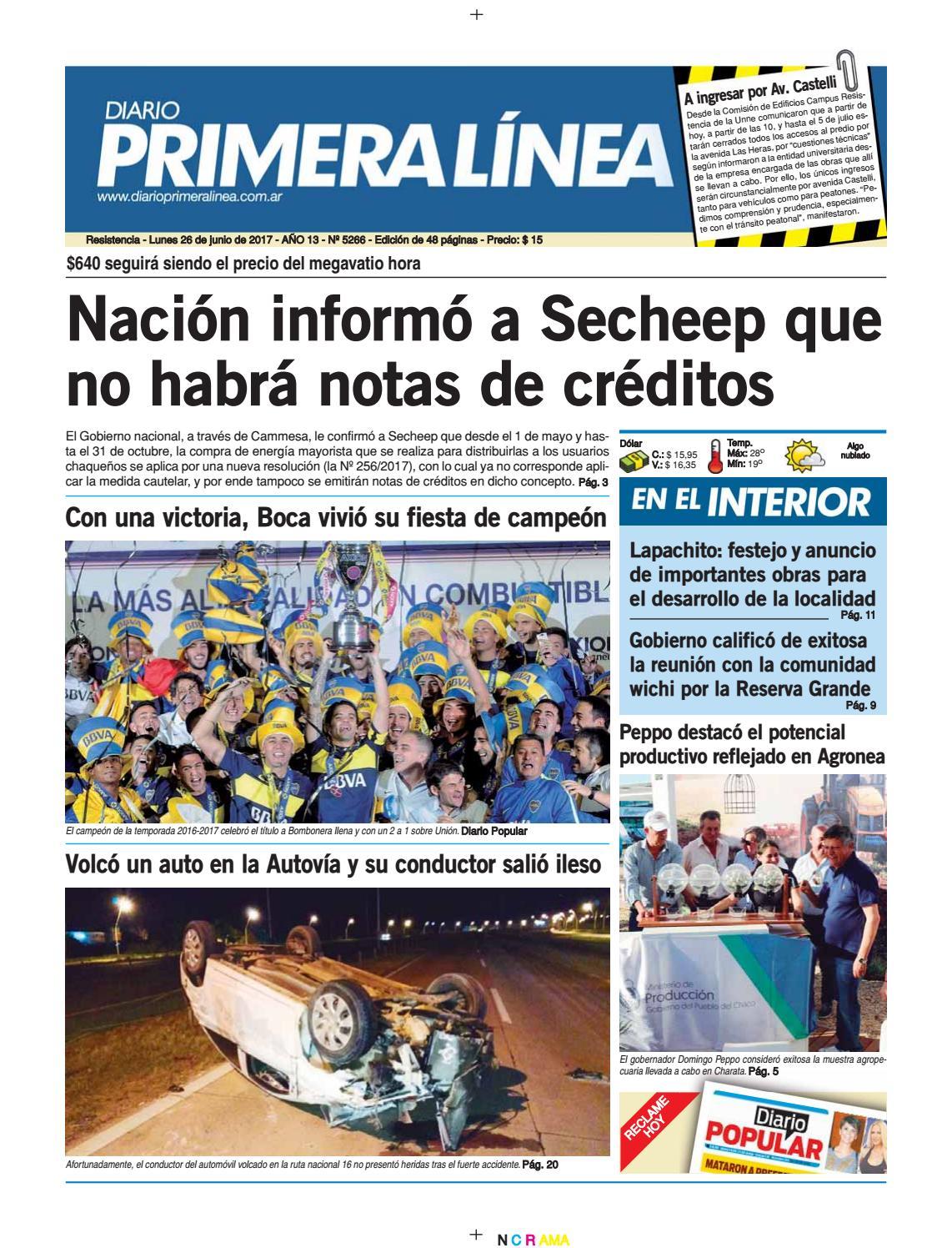 Primera Línea 5267 26 06 17 by Diario Primera Linea - issuu
