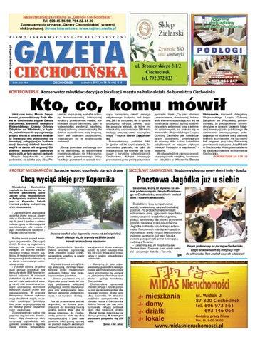 Gazeta Ciechocinska 76 2017 By Wydawnictwo Kujawy Issuu