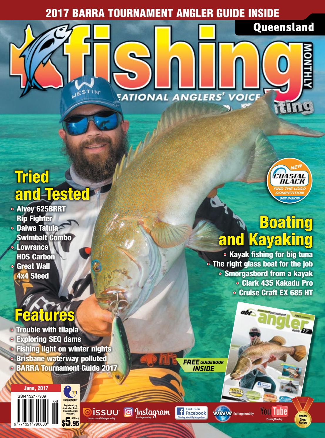 efcfa3d7 Queensland Fishing Monthly June 2017 by Fishing Monthly - issuu