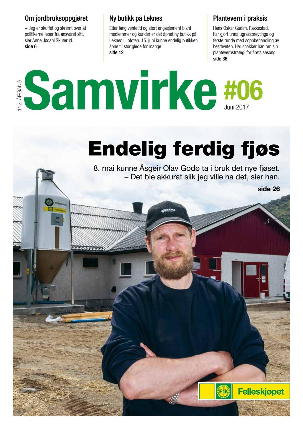 0f428374 Samvirke 6 2017 by Felleskjøpet Agri - issuu