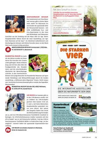 Page 23 of Ausflugsziele 2017