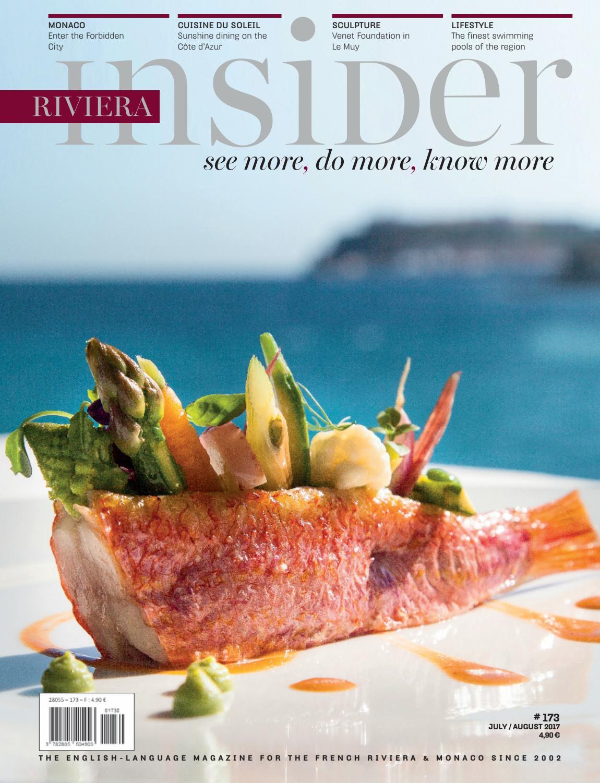 Riviera Insider July August 2017 By Riviera Press Issuu