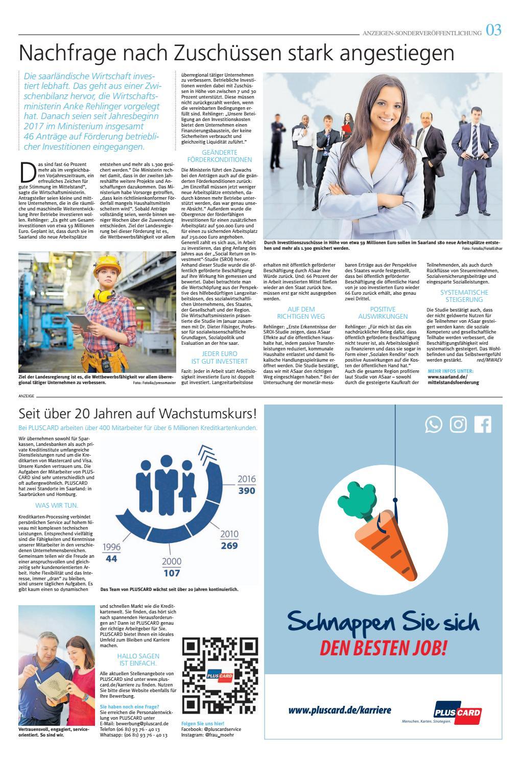 Top Arbeitgeber der Region 24.06.2017 by Saarbrücker VerlagsService GmbH -  issuu