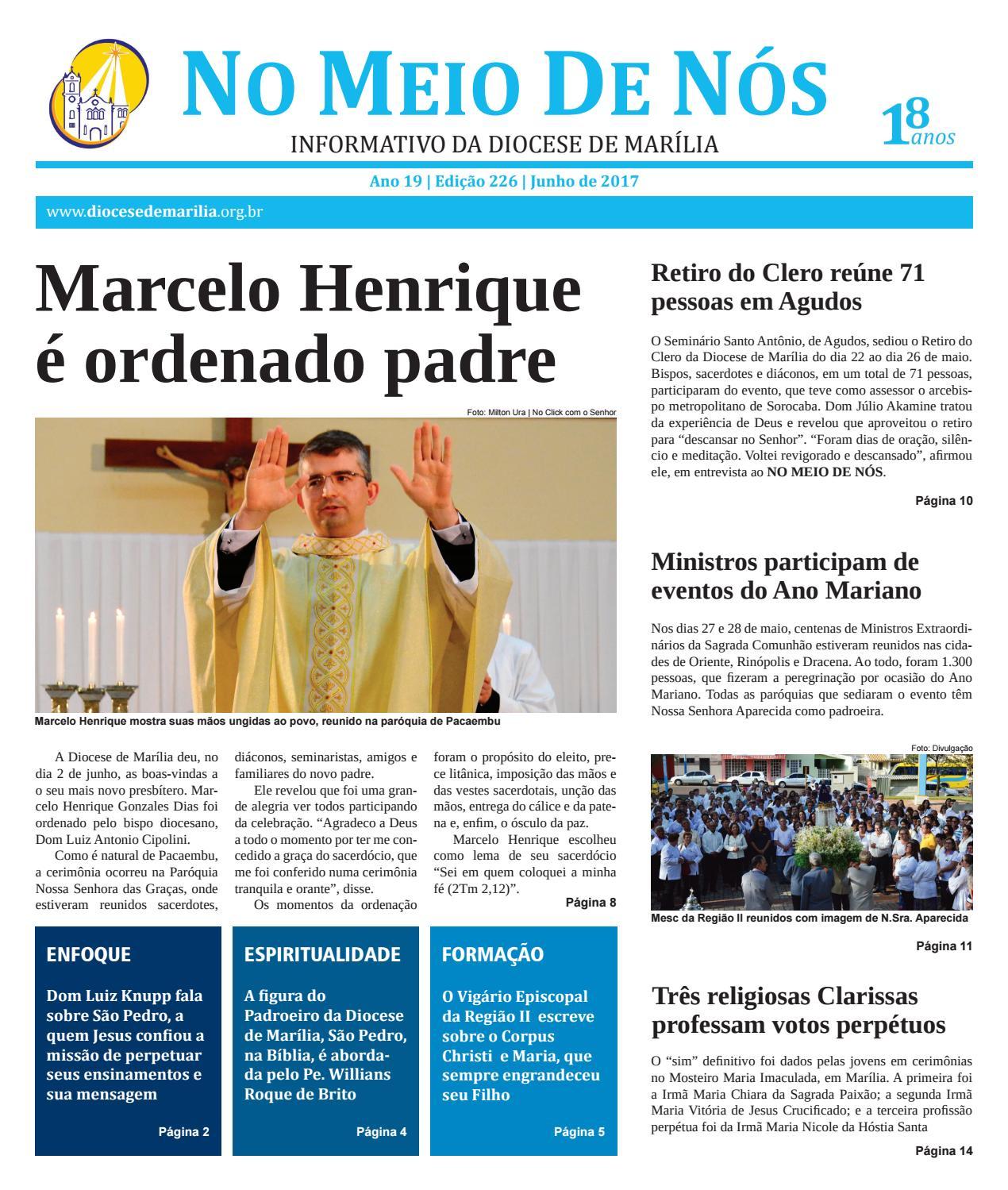 972b863d467 Jornal No Meio de Nós - Edição 226 - junho de 2017 by Pascom Marília - issuu