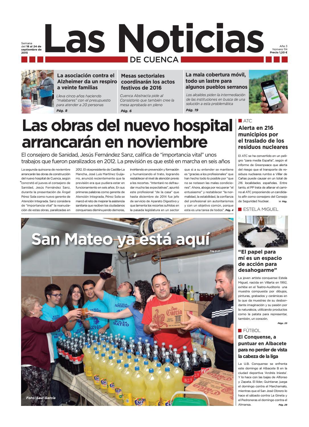 109 By Las Noticias De Cuenca Issuu # Muebles Nohales Albacete