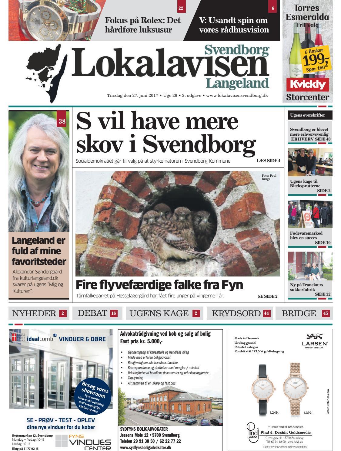 fefd42775794 Lokalavisen Svendborg uge 26 by Lokalavisen Svendborg - issuu
